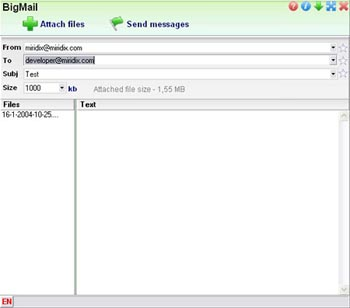Miridix Bigmail Professional v2.1