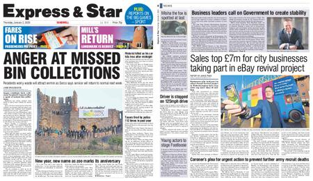 Express and Star Sandwell Edition – January 02, 2020