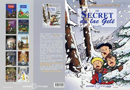 Vick et Vicky - Tome 4 - Le Secret du Lac Gele