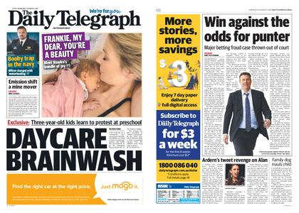 The Daily Telegraph (Sydney) – October 23, 2019