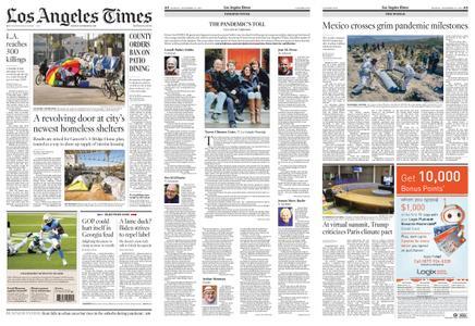 Los Angeles Times – November 23, 2020