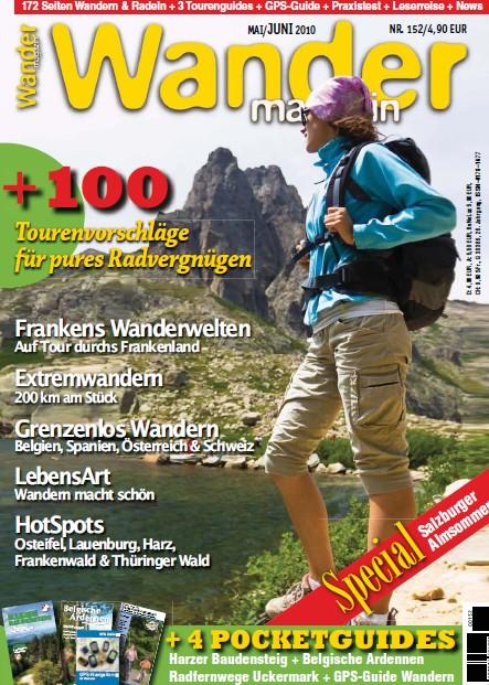 Wander Magazin No 152 Mai - Juni 2010