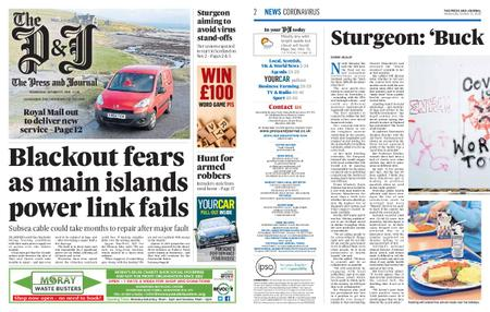 The Press and Journal Moray – October 21, 2020
