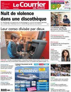 Le Courrier de l'Ouest Angers - 13 novembre 2017