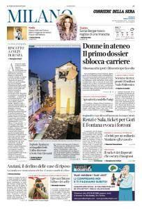 Corriere della Sera Milano - 15 Gennaio 2018