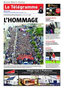Le Télégramme Brest Abers Iroise – 11 juin 2019