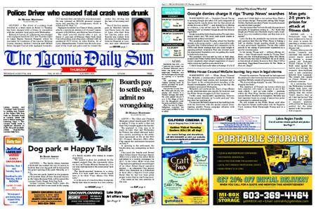 The Laconia Daily Sun – August 30, 2018