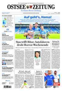 Ostsee Zeitung Wolgast - 27. Juli 2018