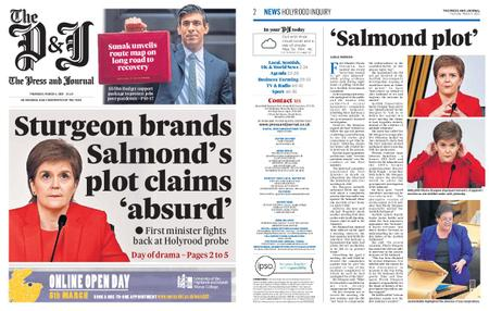 The Press and Journal Moray – March 04, 2021