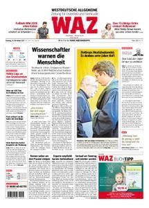 WAZ Westdeutsche Allgemeine Zeitung Oberhausen-Sterkrade - 14. November 2017