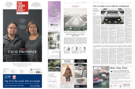 The Globe and Mail – April 06, 2019