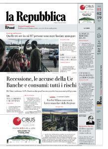 la Repubblica - 1 Febbraio 2019
