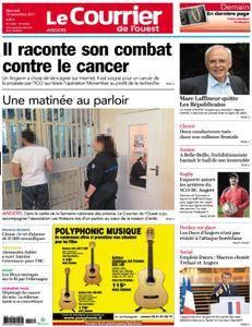 Le Courrier de l'Ouest Angers - 15 novembre 2017