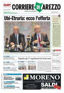Corriere di Arezzo - 13 Gennaio 2017