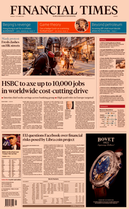 Financial Times Europe – 07 October 2019