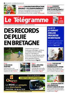 Le Télégramme Ouest Cornouaille – 05 février 2021