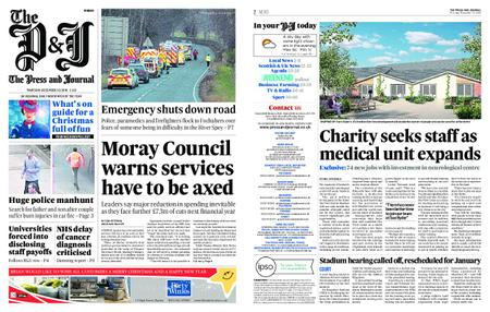 The Press and Journal Moray – December 20, 2018