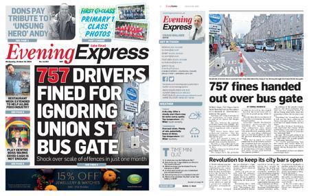 Evening Express – October 28, 2020