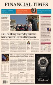 Financial Times Middle East - March 8, 2021