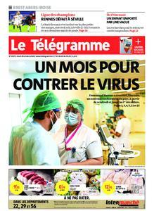 Le Télégramme Brest Abers Iroise – 29 octobre 2020