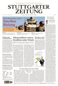 Stuttgarter Zeitung Kreisausgabe Esslingen - 08. Oktober 2019