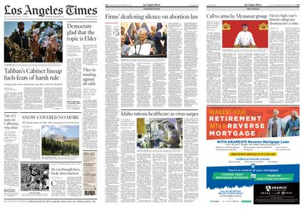 Los Angeles Times – September 08, 2021
