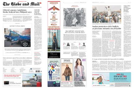 The Globe and Mail – April 10, 2019