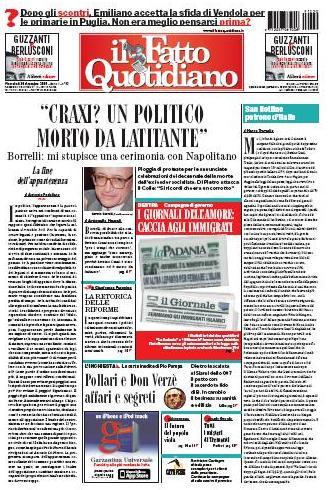 Il Fatto Quotidiano (30-12-09)