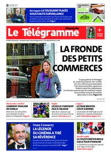 Le Télégramme Brest – 01 novembre 2020