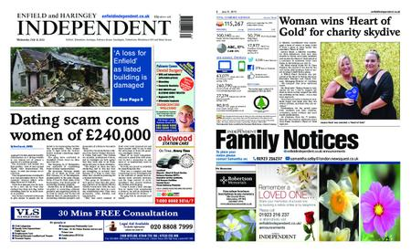 Enfield Independent – July 31, 2019