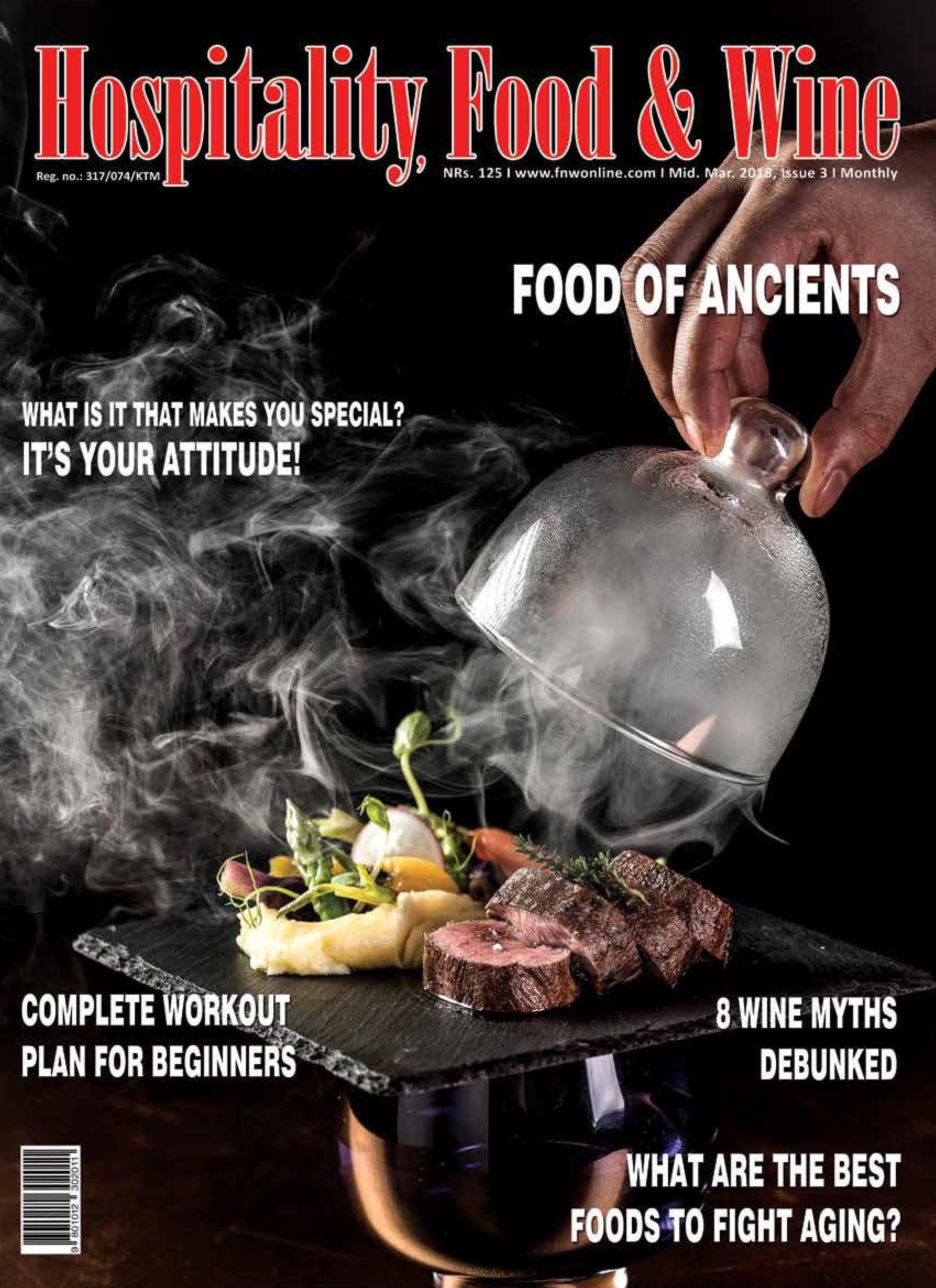 Food & Wine Nepal - April 2018