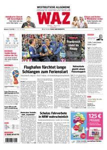 WAZ Westdeutsche Allgemeine Zeitung Oberhausen-Sterkrade - 11. Juli 2018