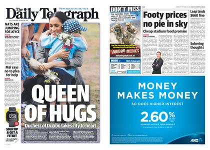 The Daily Telegraph (Sydney) – October 18, 2018