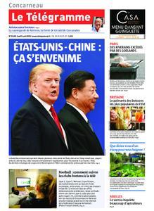 Le Télégramme Concarneau – 08 août 2019