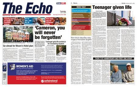 Evening Echo – April 21, 2020