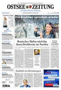 Ostsee Zeitung Wolgast - 13. April 2018