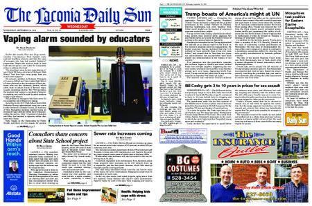 The Laconia Daily Sun – September 26, 2018