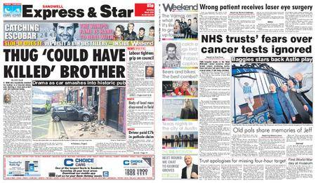 Express and Star Sandwell Edition – May 05, 2018