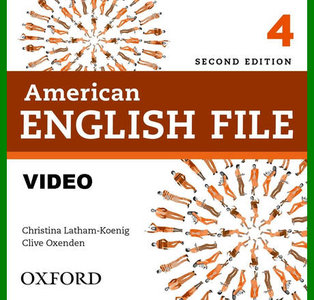 ENGLISH COURSE • American English File • Level 4 • Second Edition • VIDEO • Class DVD (2014)
