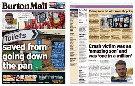 Burton Mail – November 09, 2018