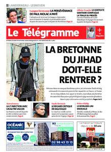 Le Télégramme Landerneau - Lesneven – 10 avril 2021