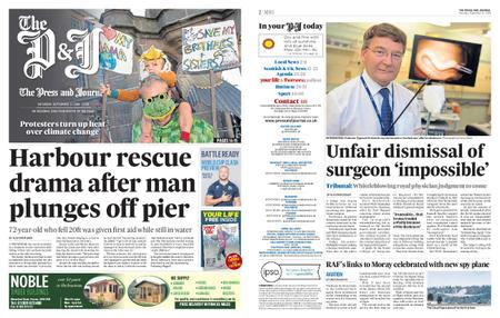 The Press and Journal Moray – September 21, 2019