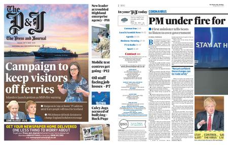 The Press and Journal Moray – May 12, 2020