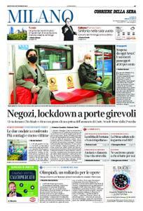 Corriere della Sera Milano – 05 novembre 2020