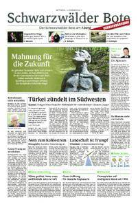Schwarzwälder Bote Hechingen - 13. Dezember 2017