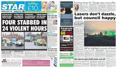 Shropshire Star Shrewsbury Edition – January 03, 2018