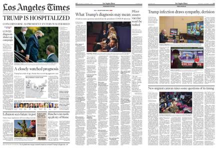 Los Angeles Times – October 03, 2020