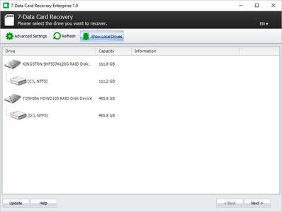 7-Data Card Recovery Enterprise 1.9 Multilingual + Portable