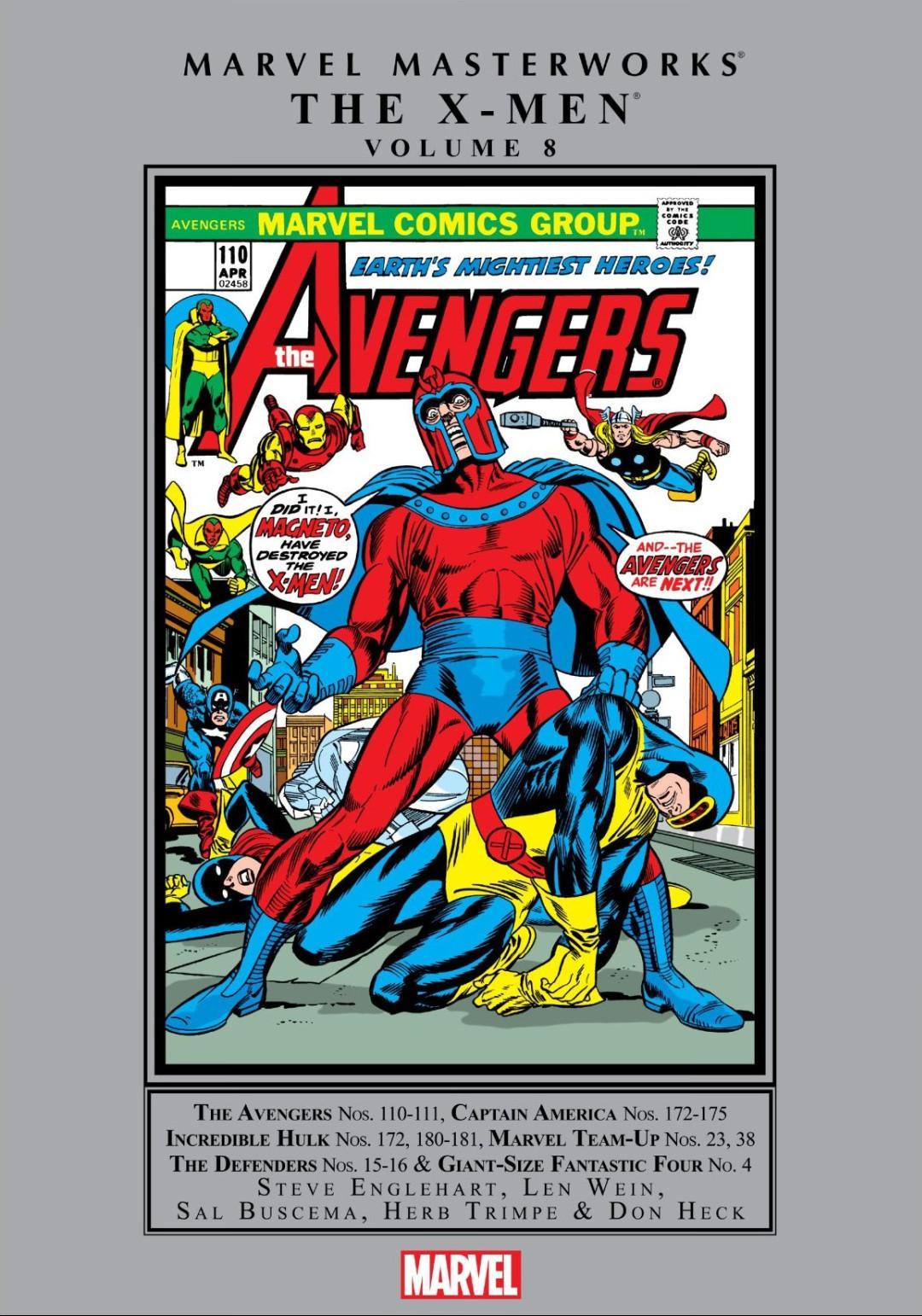 Marvel Masterworks-X-Men v08