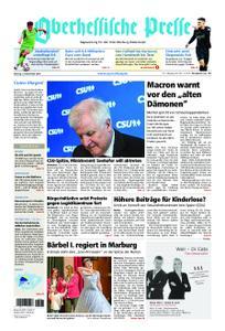 Oberhessische Presse Marburg/Ostkreis - 12. November 2018